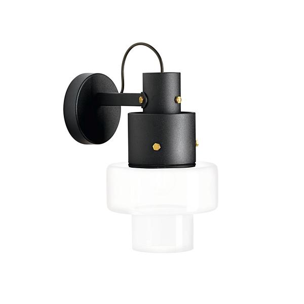 義大利 Diesel x Foscarini Gask Wall Lamp 層次美學 立塔造型 玻璃 壁燈(白色款)