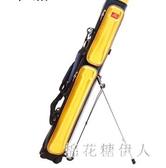 漁具包 3層雙肩竿包釣魚包魚桿包漁具防水硬殼魚竿包 QX14132 【棉花糖伊人】