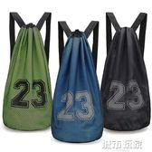 定制籃球袋籃球包訓練包籃球網袋網兜運動束口袋抽繩雙肩包大容量 下標免運