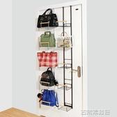 收納架 門後包包掛架衣櫃衣櫥收納架櫃旁置物架多層墻面創意整理架掛架 古梵希DF