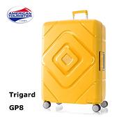 ↘4折 Samsonite美國旅行者AT【Trigard GP8】29吋行李箱 飛機輪 霧面耐磨 三點式鎖扣 2:8比例設計