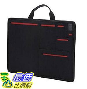 [7東京直購] ELECOM CELL多口袋收納提袋 TB-12CELLSBK 可收納12吋筆電 黑/灰 可選