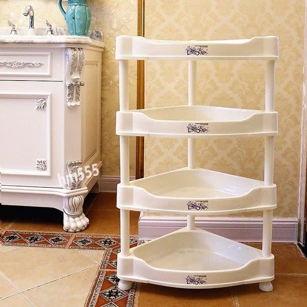 多功能三角置物收納架高檔加厚浴室置物架衛生間臉盆架洗手間廁所塑料儲物收納落地架子