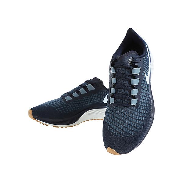 NIKE系列-AIR ZOOM PEGASUS 37 男款藍色運動慢跑鞋-NO.BQ9646402