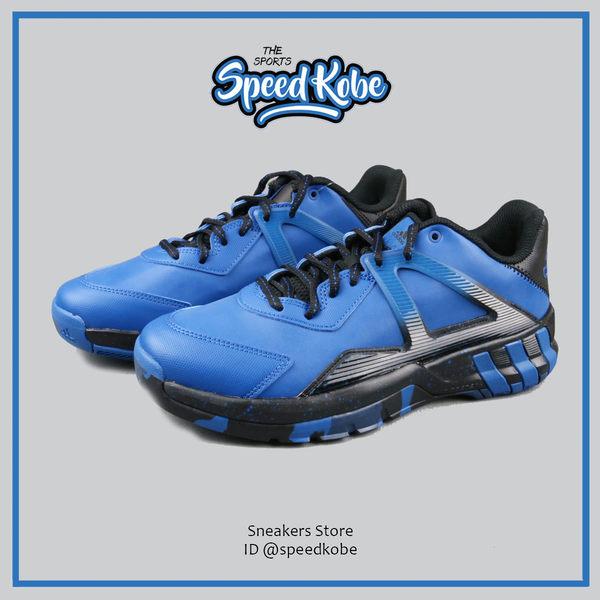 ADIDAS 籃球鞋 Crazy Quick 愛迪達 運動 休閒 藍黑 男 AQ8240【Speedkobe】