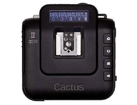 呈現攝影-Cactus V6II 通用型閃燈觸發器2.4G 收發一體 高速同步 跨系統通用 可雙閃 喚醒 TTL 離機閃