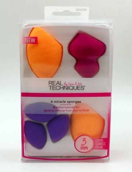 【愛來客】英國Real Techniques Miracle Sponges粉底BB修容眼影彩妝蛋套裝組6顆裝91570