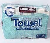 好市多 科克蘭 廚房紙巾 特級紙巾  一袋12捲 餐巾紙 限宅配