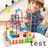 售完即止-大號串珠繞珠1-2-3周歲男女孩嬰幼兒童6-12個月寶寶益智積木玩具9-6(庫存清出T)