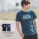 ‧【柒零年代】‧短袖,T恤,短T,衣服‧白色、黑色、空軍藍【共三色】