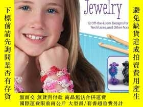 二手書博民逛書店Hooked罕見on Rubber Band Jewelry: