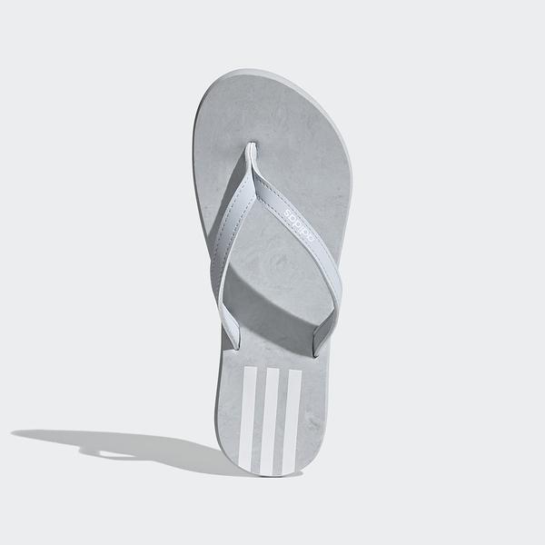 Adidas Eezay Flip Flop [FY8115] 女鞋 運動 休閒 涼鞋 拖鞋 游泳 海灘 愛迪達 灰白
