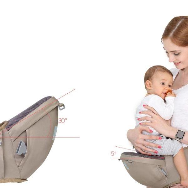 寶寶背帶 布兜媽媽嬰兒背帶腰凳前抱式多功能四季寶寶兒童坐凳抱娃單凳通用 小宅女