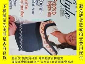 二手書博民逛書店KNIT N罕見STYLE 2009 02 Issue 159 毛衣編織針織外文原版服裝雜誌Y14610