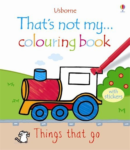 That's Not My... Colouring Book:Things That Go 那不是我的系列著色書-交通工具篇