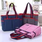 防水帆布包手提包時尚韓版大布包單肩女包簡約百搭休閒包包 交換禮物