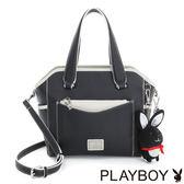 PLAYBOY- 2WAY蝙蝠包 Firefly 螢火蟲狂想系列-經典黑白