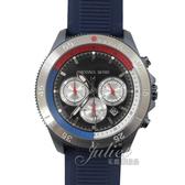 茱麗葉精品【全新現貨】MICHAEL KORS MK8708 Cortlandt 計時型石英手錶.海軍藍