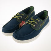 零碼出清~SNAIL~輕便 透氣 網布 休閒鞋 帆船鞋-藍 (S-2150105)