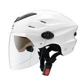 【東門城】ZEUS ZS125F 雪帽 半罩式 內藏墨片 輕量 超通風 可拆洗 雙鏡片