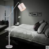 現代客廳遙控落地燈 創意田園個性布藝led BS17171『樂愛居家館』