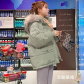 棉襖女短款 反季2019新款羽絨棉服女短款冬季棉衣寬松面包服外套學生韓版棉襖