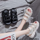 PAPORA三版厚底休閒涼鞋KQ3946...
