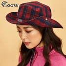 【爆殺↘45折】ADISI 格紋速乾保暖牛仔盤帽 AS18067(M-L) / 城市綠洲 (帽子、盤帽、保暖帽)