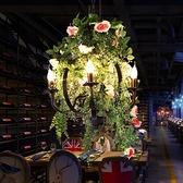 吊燈 音樂酒館主題餐廳酒吧火鍋店綠植裝飾燈燒烤吧 現貨快出YJT