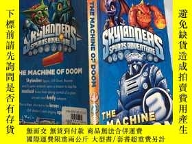 二手書博民逛書店Skylanders:罕見The Machine of Doom 天行者:末日機器.Y200392