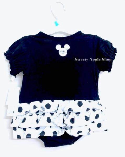 日本限定 迪士尼 Disney Baby  米妮 嬰兒套裝【 80 】