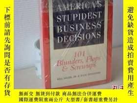 二手書博民逛書店1997年,america s罕見stupidest busin