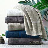 LENCIER蘭敘 五星級酒店全棉毛巾可掛式精梳純棉加大加厚吸水面巾