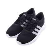 ADIDAS NEO LITE RACER 休閒運動鞋 黑銀 FW8979 女鞋