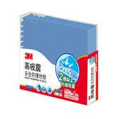 3M 高吸震安全防撞地墊-藍色 (61.5CM) 緩衝吸震 SGS認證