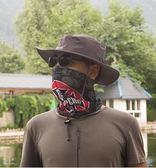 帽子男士夏戶外防曬漁夫帽登山釣魚遮陽帽垂釣遮臉防紫外線太陽帽 小巨蛋之家