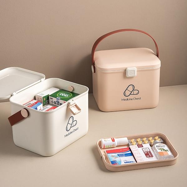 醫藥收納箱 醫藥箱 急救箱 藥箱 醫藥盒 手提醫藥箱 醫護箱 藥盒 藥品收納箱【RS1218】