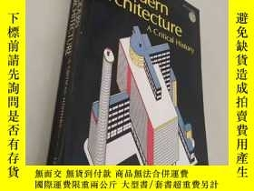 二手書博民逛書店Modern罕見Architecture: A Critical