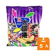 太國捲-芝麻味(奶蛋素)350g(5入)/箱 【康鄰超市】