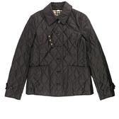 【BURBERRY】菱格紋薄款輕型外套(黑色) M、L、XL號 8023320 A1189