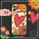 同款彩虹小米11手機殼液態硅膠涂鴉米11pro保護套【輕派工作室】