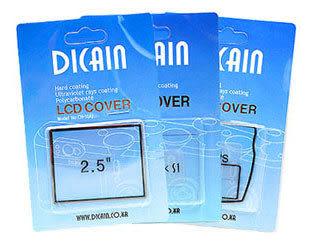 DICAIN LCD 保護蓋 / 硬式保護貼 Nikon D40 / D40X 專用 (單組 出清特價)