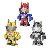 【Tico 微型積木】戰鬥機器人(黃3008/黑3009/藍紅3010)