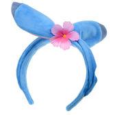 【京之物語】日本迪士尼史迪奇花朵造型髮箍-預購商品