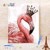 【送外框】diy數字油畫填充減壓手工填色畫手繪裝飾油彩畫【聚寶屋】