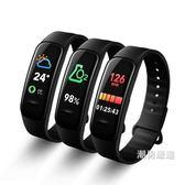 一件免運-彩屏防水智慧運動手環小米3測多功能計步器男女華為手錶6色xw