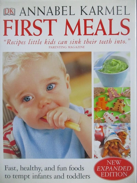 【書寶二手書T3/餐飲_ZHV】First Meals-Fast, Healthy, and Fun Foods for