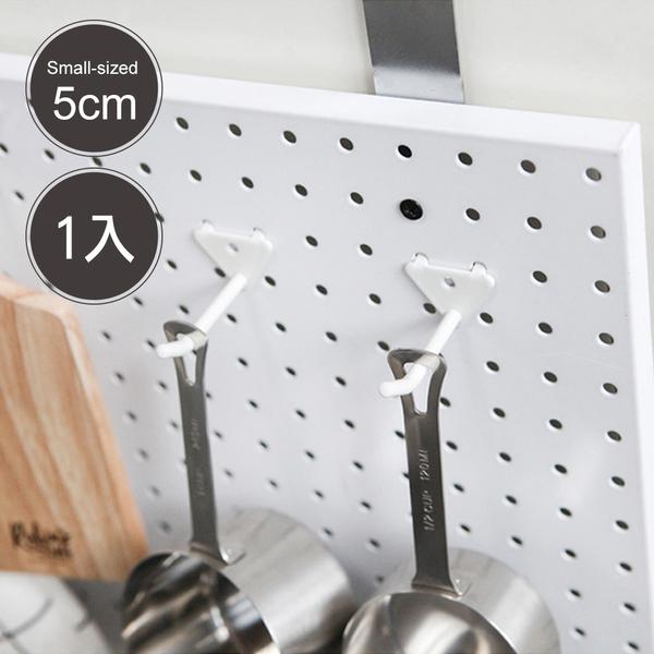 洞洞板專用 掛勾【G0031】inpegboard洞洞板專用-高級雙腳勾S 韓國製 完美主義