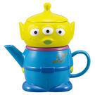 《sun-art》玩具總動員三眼怪陶磁造型茶壺杯具組★funbox生活用品★_NR22931