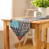 時尚可愛空間餐桌布 茶几布 隔熱墊 鍋墊 杯墊 餐桌巾桌旗158 (30*140cm)